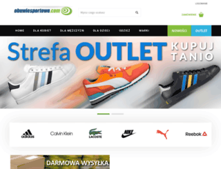 obuwiesportowe.com screenshot