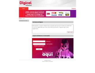 obv.digicelpanama.net screenshot