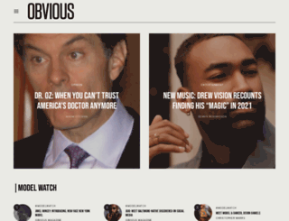 obviousmag.com screenshot