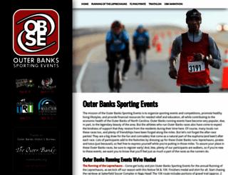 obxmarathon.org screenshot
