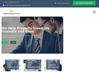 oc-propertymanagement.com screenshot