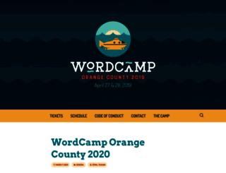 oc.wordcamp.org screenshot