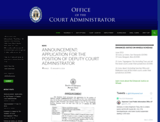 oca.judiciary.gov.ph screenshot