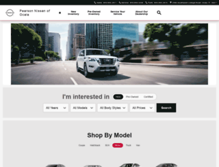 ocalanissan.com screenshot