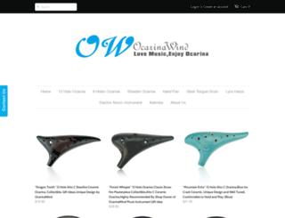ocarinawind-com.myshopify.com screenshot