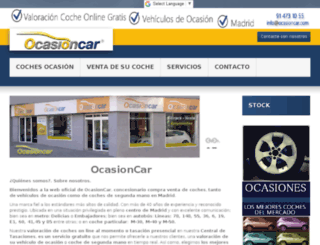 ocasioncar.com screenshot