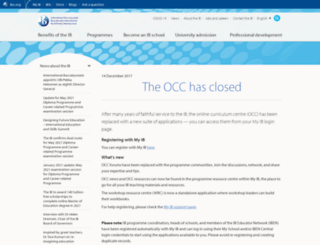 occ.ibo.org screenshot