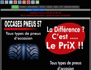 occases-pneus-57.fr screenshot