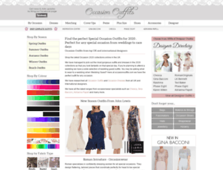 occasionoutfits.com screenshot