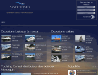 occasions-bateaux-hyeres.com screenshot