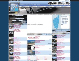 occasions-corse.com screenshot