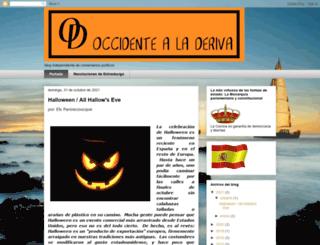 occidentealaderiva.blogspot.com screenshot