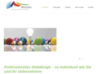 occipio.de screenshot