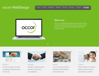 occor.co.uk screenshot