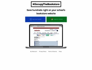 occupythebookstore.com screenshot