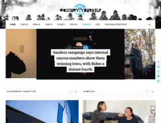 occupyyourself.org screenshot