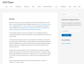 ocddave.com screenshot