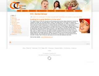 ocdentalgroup.net screenshot