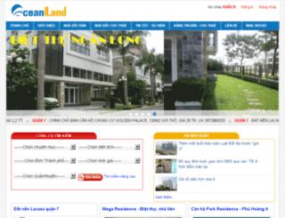 ocean-land.com.vn screenshot