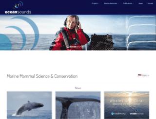 ocean-sounds.com screenshot