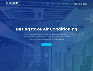 oceanaircon.co.uk screenshot