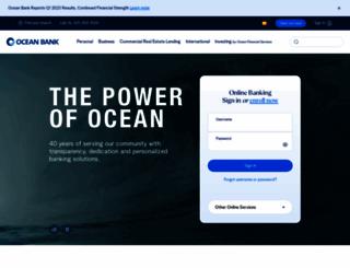 oceanbank.com screenshot