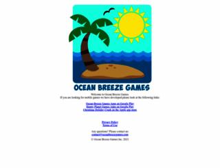 oceanbreezegames.com screenshot