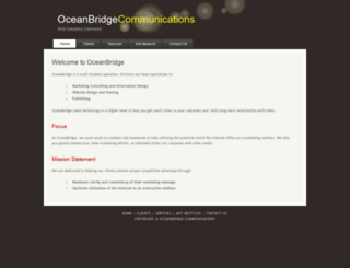 oceanbridge.com screenshot