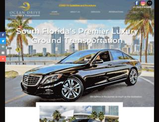 oceandrivelimousine.com screenshot