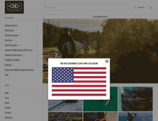 oceanearth.com screenshot