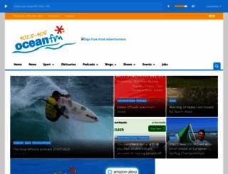 oceanfm.ie screenshot