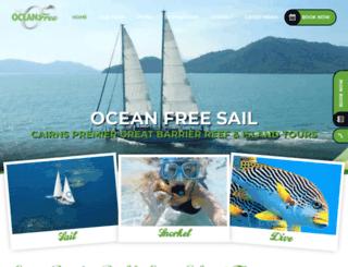 oceanfree.com.au screenshot