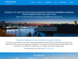 oceangroups.com.au screenshot
