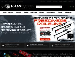 oceanhunter.co.nz screenshot