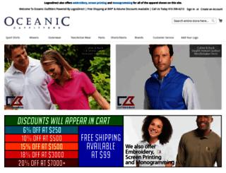 oceanicoutfitters.com screenshot