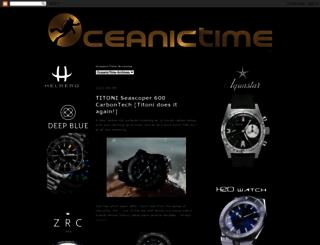 oceanictime.blogspot.it screenshot