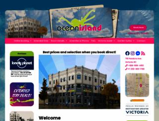 oceanisland.com screenshot