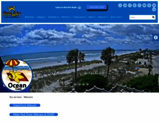oceanlakesnow.com screenshot