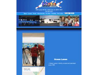 oceanlanes.com screenshot