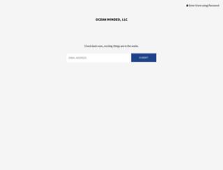 oceanminded.com screenshot