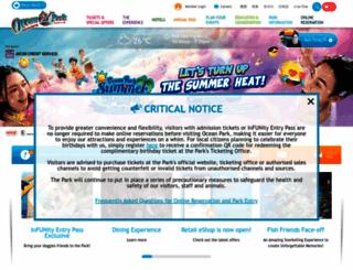 oceanpark.com.hk screenshot