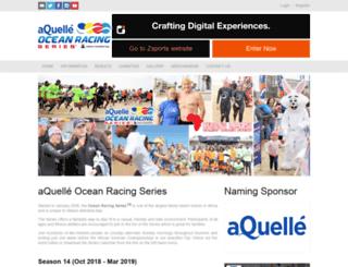 oceanracingseries.com screenshot