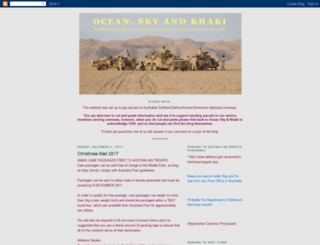 oceanskykhaki.blogspot.ca screenshot
