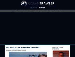oceantrawleryachts.com screenshot