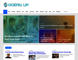 oceanup.com screenshot