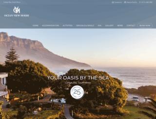 oceanview-house.com screenshot