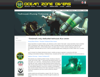 oceanzonedivers.com screenshot