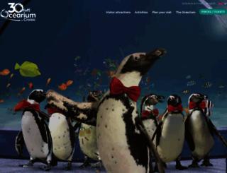 ocearium-croisic.fr screenshot