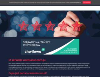 ocenianie.com.pl screenshot