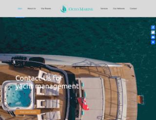 oceomarine.com screenshot